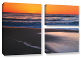 As Dawn Approaches, 3 Piece Gallery-Wrapped Canvas Flag Set Gallery Wrapped Canvas Set by Steve Ainsworth