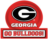 Georgia Bulldogs Jumbo Tailgate Peel & Stick Wall Decal