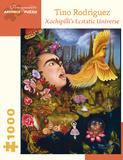 Tino Rodriguez: Xochipilli's Ecstatic Universe 1000 Piece Puzzle Jigsaw Puzzle