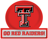 Texas Tech Red Raiders Jumbo Tailgate Peel & Stick Wall Decal