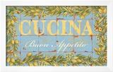 Mediterranean Cucina Posters by Michael Letzig
