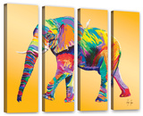 The Ride, 4 Piece Gallery-Wrapped Canvas Set Gallery Wrapped Canvas Set by Linzi Lynn