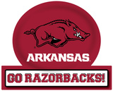Arkansas Razorbacks Jumbo Tailgate Peel & Stick Wall Decal