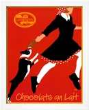 Chocolate au Lait Prints by Johanna Kriesel