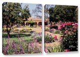 Mission San Juan Capistrano Ii, 2 Piece Gallery-Wrapped Canvas Set Posters by Linda Parker