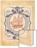 Nautical Advice 1 Wood Print by  Z Studio