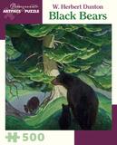 W. Herbert Dunton: Black Bears 500 Piece Puzzle Jigsaw Puzzle