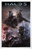 Halo 5 - Troops Poster