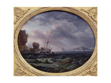 Shipwreck Giclee Print by Claude Joseph Vernet