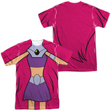 Teen Titans Go- Starfire Uniform (Front/Back Print) T-Shirt