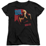 Womans: Billy Idol- Rebel Yell T-shirts