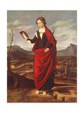 St. Catherine of Alexandria Giclee Print by Marco Basaiti