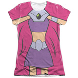 Juniors: Teen Titans Go- Starfire Uniform T-Shirt