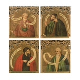 Ss. Thomas, James the Less, Judas Macabeus and Matthius' 1468 Giclee Print by Nicolas Frances