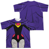 Youth: Teen Titans Go- Raven Uniform (Front/Back Print) Shirt