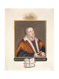 Portrait of Martin Luther (1483-1546) from 'Memoirs of the Court of Queen Elizabeth' Giclee Print by Sarah Countess Of Essex