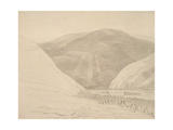 Croidon Hill, 1785 Giclee Print by Francis Towne
