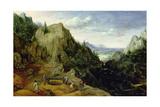Landscape with a Foundry, 1595 Giclée-Druck von Lucas van Valckenborch