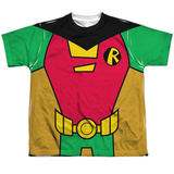 Youth: Teen Titans Go- Robin Uniform T-Shirt