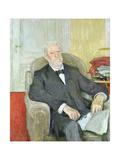 Senator Eduard Wilhelm Ludwig Heinrich Roscher (1838-1929) 1913 Giclee Print by Edouard Vuillard