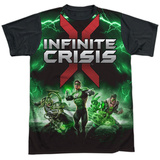 Infinite Crisis- IC Green Lantern Black Back Sublimated
