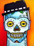 Sugar Skull Giclee Print by  Fido Studios