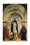 The Martyrdom of St.Peter and 2 Saints Giclee Print by Giovanni Battista Cima Da Conegliano