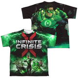 Youth: Infinite Crisis- IC Green Lantern (Front/Back Print) T-shirts