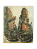 Girl's Shoes, 29th July 1982 Giclee Print by Horst Janssen