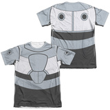 Teen Titans Go- Cyborg Uniform (Front/Back Print) Shirt