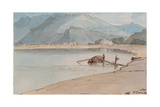 Lake Windermere, 1786 Giclee Print by Francis Towne