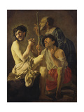 The Mocking of Christ Giclee Print by Hendrick Ter Brugghen