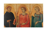 Three Saints Giclee Print by Pietro Lorenzetti