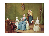 Venetian Family Giclee Print by Pietro Longhi
