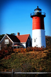 Nauset Light House Giclee Print by Jobe Waters