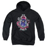 Youth Hoodie: Teen Titans Go- Raven Pullover Hoodie
