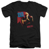 Billy Idol- Rebel Yell V-Neck T-Shirt