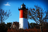 Nauset Light Landscape Giclee Print by Jobe Waters