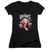 Juniors: iZombie- Brains And Beauty V-Neck Shirt
