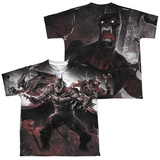Youth: Infinite Crisis- IC Batman (Front/Back Print) T-Shirt