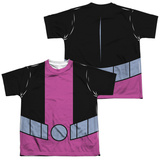 Youth: Teen Titans Go- Beast Boy Uniform (Front/Back Print) T-shirts
