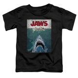 Toddler: Jaws- Lined Poster Shirts