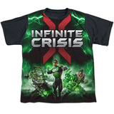Youth: Infinite Crisis- IC Green Lantern Black Back Shirt