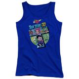 Juniors Tank Top: Teen Titans Go- T Tank Top