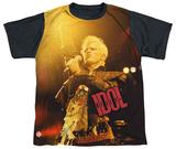 Youth: Billy Idol- Rebel Black Back T-shirts