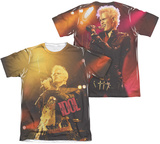 Billy Idol- Rebel (Front/Back Print) T-shirts