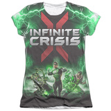 Juniors: Infinite Crisis- IC Green Lantern T-shirts