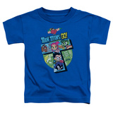 "Toddler: Teen Titans Go- Action ""T"" T-Shirt"
