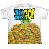 Youth: Teen Titans Go- Burgers & Dogs T-Shirt
