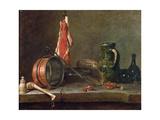 Still Life: Feast Day Menu, 1731 Giclee Print by Jean-Baptiste Simeon Chardin